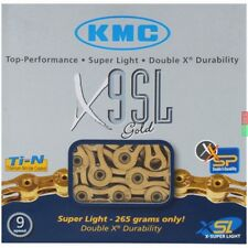CATENA KMC X9SL GOLD 9 VELOCITA' colore ORO