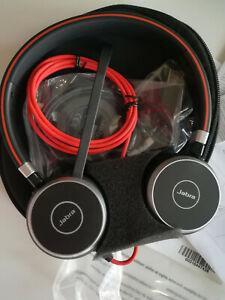 Casque Jabra EVOLVE 40 MS Stereo : casque USB / Jack 3.5