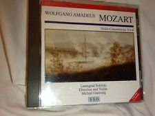 MOZART WOLFGANG AMADEUS VIOLIN CONCERTOS NO 5+4~OPENED NEVER USED~CHEAP!