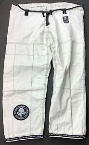 MMA Ju Jitsu Uniform Pants Wanderlei Silva Adult Grappling Training Brazil White