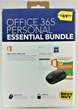 Office 365 Personal Essential Bundle In Box New Other