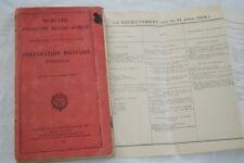 MEMENTO PREPARATION MILITAIRE 1931