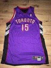 Game Worn Issue Vince Carter Nike Toronto Raptors NBA ProCut Road Jersey 2001
