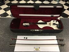 FENDER FV-1 Electric Violin (4/4) w/ FENDER Case & Bow - USED & WORKING!!
