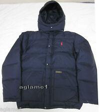 NWT  Polo Ralph Lauren boys pony Down jacket coat Black L (14-16)
