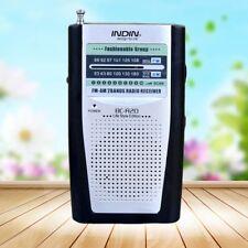 Universal Mini AM / FM Radio Receptor Antena Construido en el altavoz AC-R20