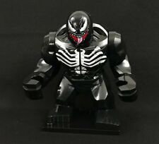NEW Big Figure Minifigure VENOM 2 Spider-Man Marvel Comics Avengers V2 For LEGO