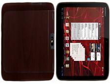 Skinomi Tablet Skin Dark Wood+Screen Protector for Motorola DROID XYBOARD 10.1