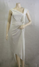 "$278 BCBG ""MAX AZRIA"" WHITE (A006D443) JERSEY DRESS NWT M"