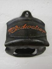 Vintage-Look Die-Cast Metal Wall Mounted Budweiser Beer Bottle Opener w/Screws