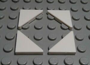 Lego Fliese - Kachel Ecke 2x2 Weiss 4 Stück                              (974 #)