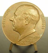 Médaille G Florent fondateur laboratoires Dexo sc Vernon 1966 Ch Ohresser Medal
