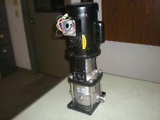 Grundfos Crn1 5 A P A E Hqqe Vertical Pump 1ph 115230 12hp Test Ran Ok