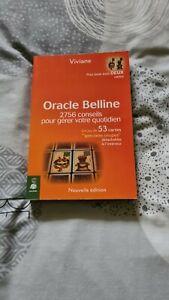 Oracle belline 2756 conseils pour gérer votre quotidien:tarot:divination:viviane