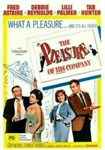 The Pleasure of His Company DVD Fred Astaire Debbie Reynolds New & Sealed Aus