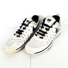 NIKE Mens SZ 15M Lunar TR Training TB White Black Running Shoes 599287-100