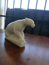 RARE 1950 Vincent Glinsky Panther Sculpture  Mountain Lion Jaguar Artist Vintage