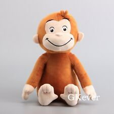 "New 12"" CURIOUS GEORGE PLUSH DOLL STUFFED MONKEY PLUSH TOY"