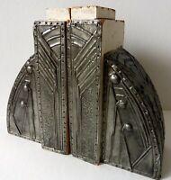 sehr ungewöhnliche Art Deco Buchstützen - Frankreich 1930iger Jahre