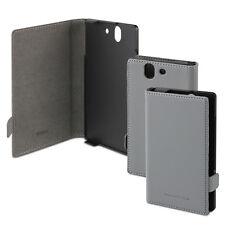 Genuine Official Sony Xperia Z Roxfit Book Case Designed for Sony - Grey