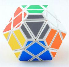 UFO Magic Cube Irregular GEM Skewb Twisty Puzzle Intelligence Toys Gift White