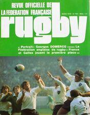 Rugby n°763 - 1976 - Georges Domercq - Le Comité des Alpes - Jean de Grégorio