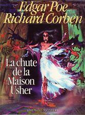 Corben Edgar Poe Chute de la Maison Usher Editions Albin Michel USA 1986 TBE