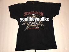 VINTAGE MEGADETH 1986 I KILL FOR THRILLS T SHIRT CONCERT TOUR ORIGINAL RARE