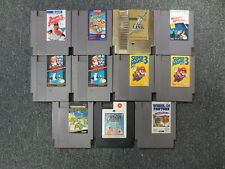 ~~~11 x NES NINTENDO - VIDEO GAMES LOT - TESTED WORKING(TMNT, DUCK TALES, LINK+)