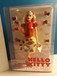 Barbie Hello Kitty 2017 Red Bows Kitty Purse Kitty Figure Barbie Signature