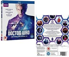 DR WHO 2017 10 COMPLETE + 2016 Christmas Doctor Peter Capaldi  - NEW BLU-RAY UK