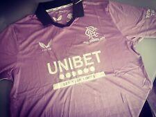More details for glasgow rangers purple third shirt size xl