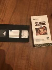 One Flew Over The Cuckoo's Nest VHS Jack Nicholson Tested Free Shipping L1