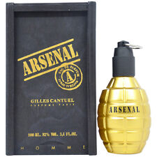 3 Pack Arsenal Gold by Gilles Cantuel for Men - 3.4 oz EDP Spray