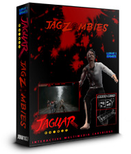 JagZombies Atari Jaguar Blood Red Cart Edition 2018 Release New Improved Version
