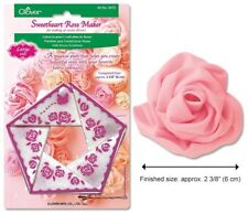 Clover Sweetheart Rose Maker - Large - Make Fabric Roses Quickly with This Tool