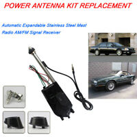 Replace For Cadillac Allante Catera DeVille Power Antenna Electric Aerial Kit