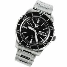 Seiko Fifty Five Fathoms 43mm Stainless Steel Case Silver Strap - (SNZH55)