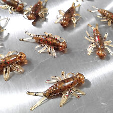 NEW 50/pack BRONZEBACK SPECIAL Buggeroo Fishing Soft Plastic Bait Bug Cricket
