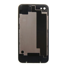New Battery Cover Back Door Rear Glass Repair For Apple iPhone 4GS 4S Black