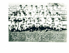 1939 ROCHESTER RED WINGS TEAM 8X10 PHOTO BASEBALL CARDINALS MARION ROE CRABTREE