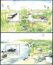 Denmark 1999 Swallows/Tern/Eider/Geese/Duck/Birds/Nature/Wildlife 2 x m/s n40901