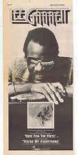LEE GARRETT - HEAT FOR THE FEETS press clipping 1976 (17/7/76) 14X40cm