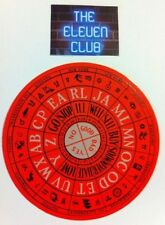 Pearl Jam 1996 No Code Ames Sticker NC SC NY Toronto ON Fort Lauderdale FL NYC