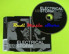 CD Singolo U2 Electical Storm 2002 Uk UNIVERSAL MUSIC 4400639092  mc dvd (S11)