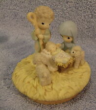 Precious Moments Prototype #758442 Nativity Candle Topper