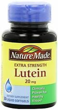 Nature Made Extra Strength Lutein Liquid TOTAL 30 Softgels EXP: 08/2021