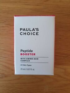 New Boxed Paula's Choice Peptide Booster 20ml Free Delivery