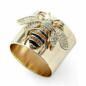 Wholesale Handmade Bee Ring Women Men Vintage Jewelry Size 9