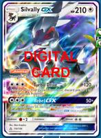 1X Silvally GX 116/156 Pokemon Online Card TCG PTCGO Digital Card